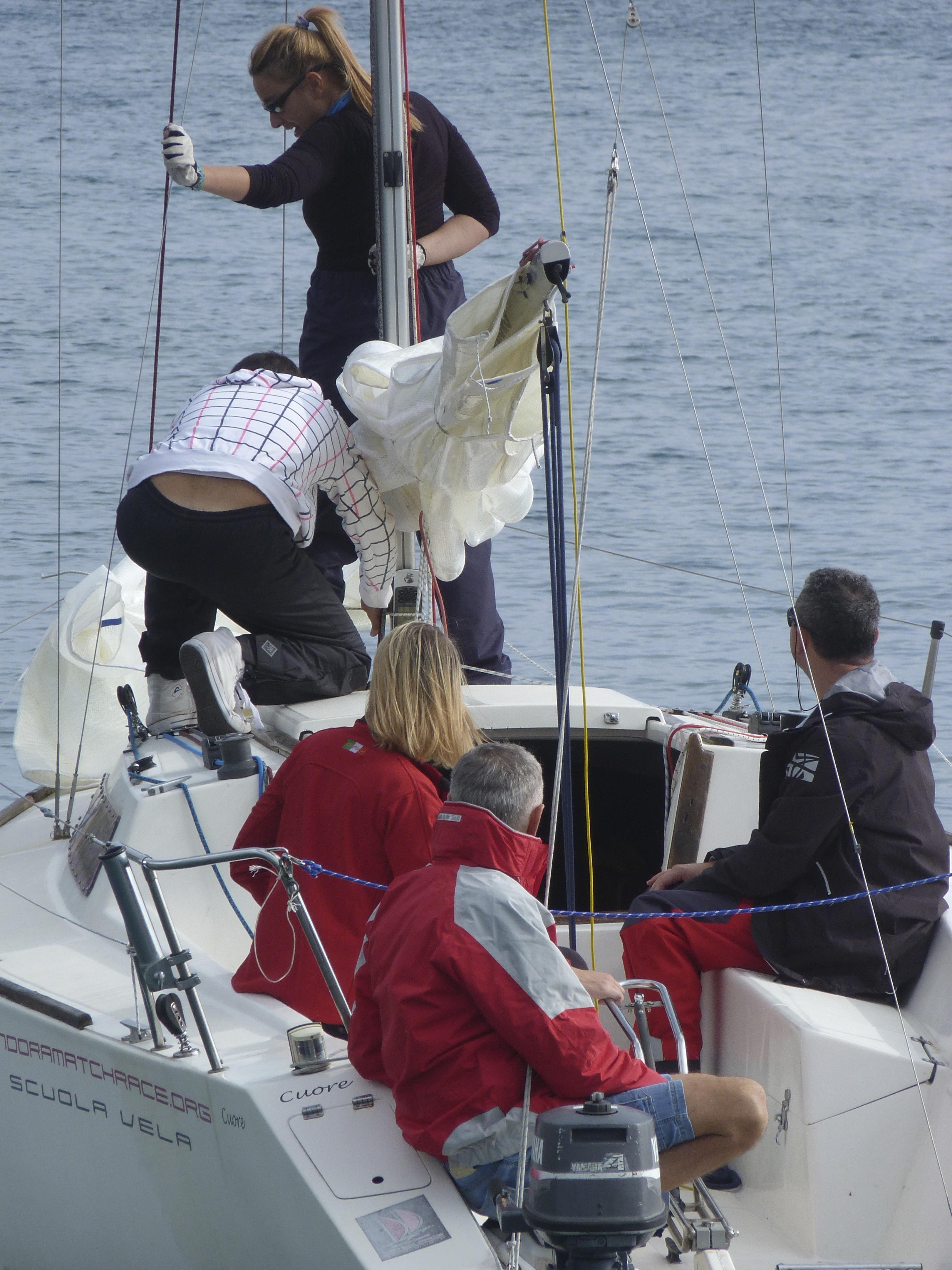 Corso di vela base, impara ad andare in barca a vela