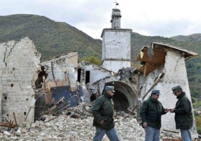 Risollevarsi dal terremoto
