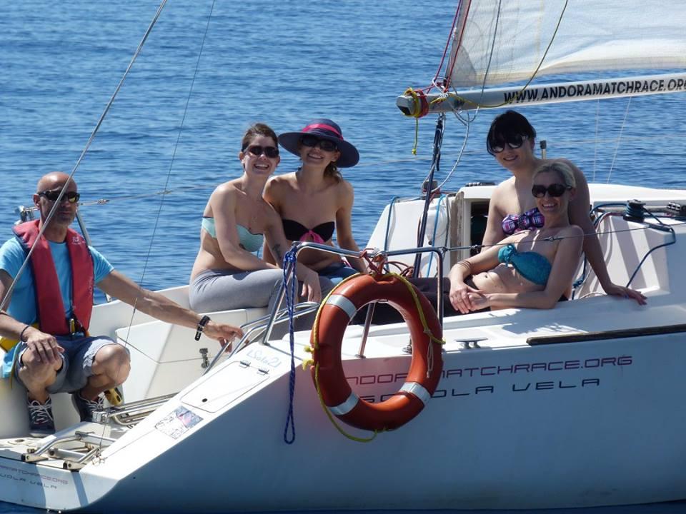 Addio al nubilato e celibato in barca a vela